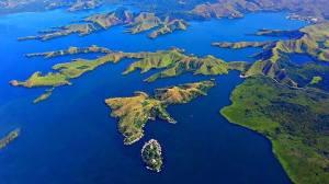 distance, lake sentani