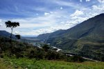 A view in the Baliem Valley