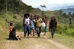 Trekking in the Baiem Valley