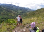 Marine and Peter, Baliem valley trekking tour