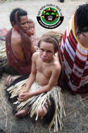Baliem valley Festival. Demianus Wasage, tour Guide, Papua
