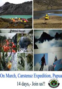 MARCH 2015 CARSTENZ EXPEDITION, CLICK: http://trek-papua.com/our-treks/1-week-expereience-carstenzs-mountain/carstensz-pyramid-program/