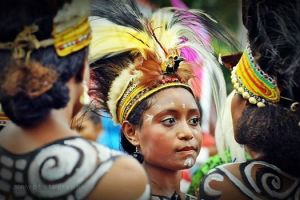 Festival Danau Sentani, papua,June 2014. Photo by Wanda