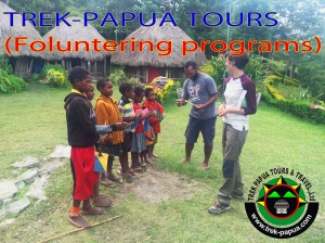 TREK-PAPUA TOURS & TRAVEL.,LTD (Voluntering programs in southern Dani, Dec /2016 -------------------------------------------- https://trek-papua.com/contact/customers-feedback/about-2/welcome-to-our-paradisee-papua/we-help-finance-english-education/