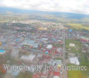 Wamena city. City of hope, Grand valley Dani. Ahamua. Pristine valley. Great wall city, Papua highland. Cultural resistance