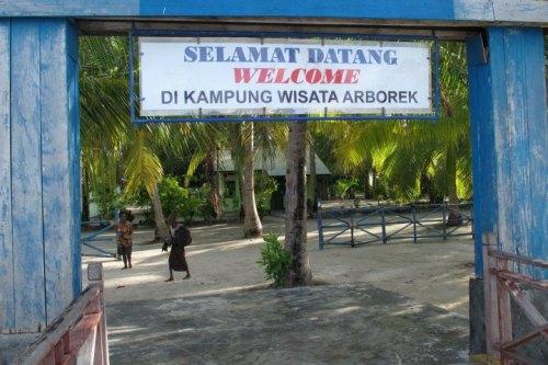 Guest House, Arborek, Raja ampat.Papua