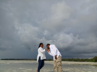 Pra wedding in Ngurafur beach, Kei islands