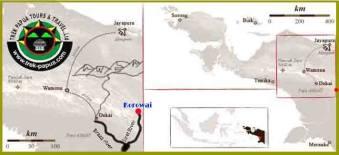 korowai map