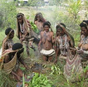 burn-stone-ceremony-papua