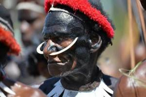 dani-man-on-style, Papua, Baliem valley cultural tour, Dan & lanny man on body painting, Pig tag, Mummy Wamena, Salt lake tour, Baliem valley, Jiwika village, Yali-elelim, Manggia rosie in Yakikma, Elelim Kab. Yalimo, Apahapsili District.