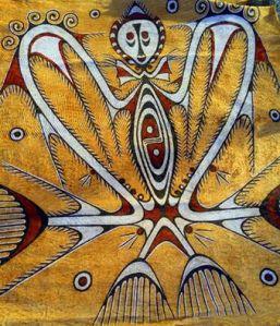 sentani-lake-art-wood bark painting, Asei village, Ayapo village day tour, Kalkote sentani lake festival, Papua-Jayapura day tour, Mac. Arthur monument
