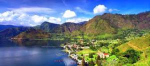 lake-toba cruising, Sumaterasamosir-map, sumatera, Indonesia Programs