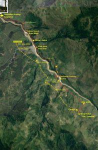 @Dian Olly trekking Map