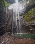 bromo waterfall