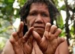 Tradisi Potong Jari Suku DaniPapua