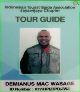 Papuans Tourists Guide-Demi Wasage